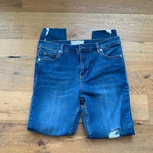 NWOT free people skinny jeans size 29